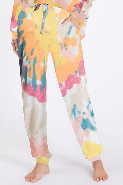 Tie Dye Sunshine Lounge Bottoms