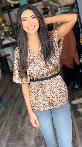 Spotted in Love Top