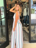 Rainbow Stripes Maxi