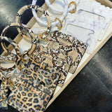Credit Card Bangle - Leopard