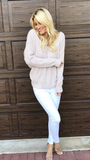 Blush/Taupe Knit