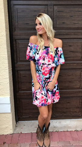 Floral Love - Off the shoulder