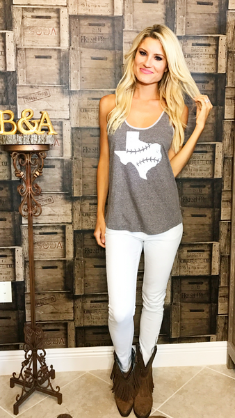 Rep Texas Tank - Grey