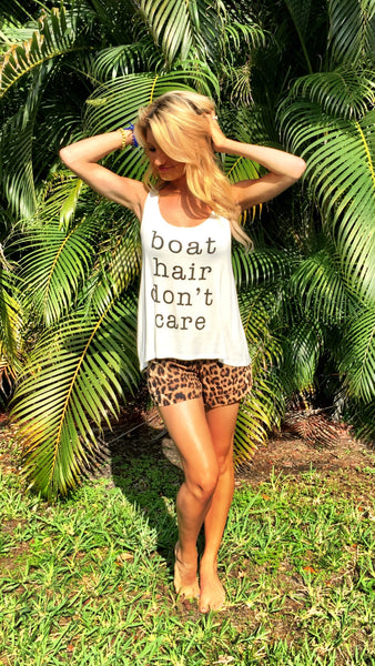Boat Hair - White