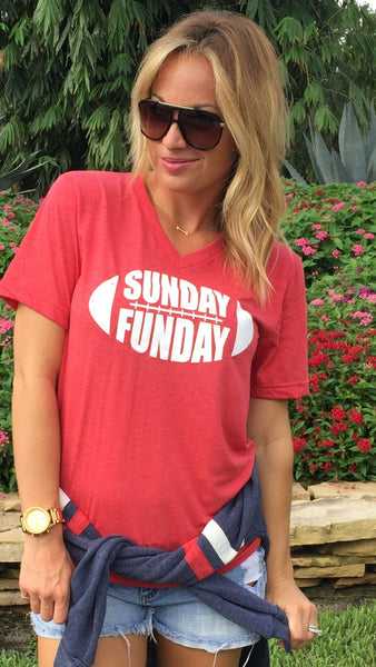 SUNDAY FUNDAY - RED