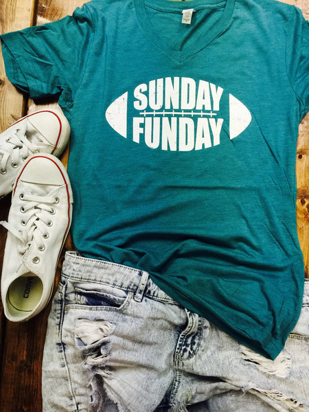 SUNDAY FUNDAY - TEAL