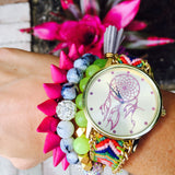 Dream Catcher Arm Candy RED