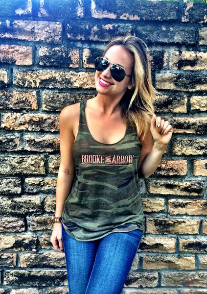 Brooke and Arrow Camo Tank