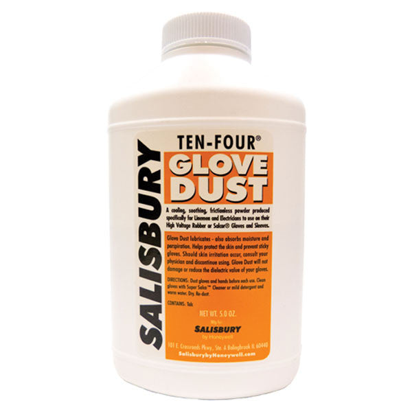 Salisbury Ten-Four (10-4) 5 oz bottle of glove dust
