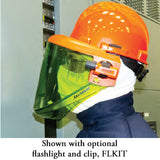 Salisbury AS1200HAT with optional side task lights and clear chin guard