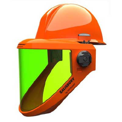 HRC2 Salisbury AS1200HAT lift-front hard hat/face shield