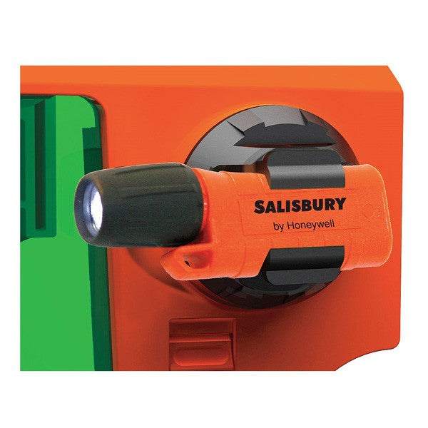Salisbury FLKIT flashlight and mounting clip