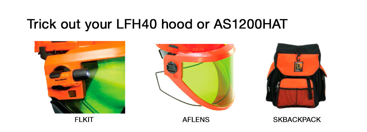 Accessories for LFH40 and AS1200HOOD