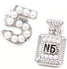 Pearls & N5 Studd Earrings