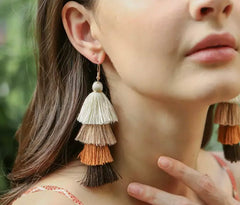 Bold Tassel Earrings (5 Available Colors)