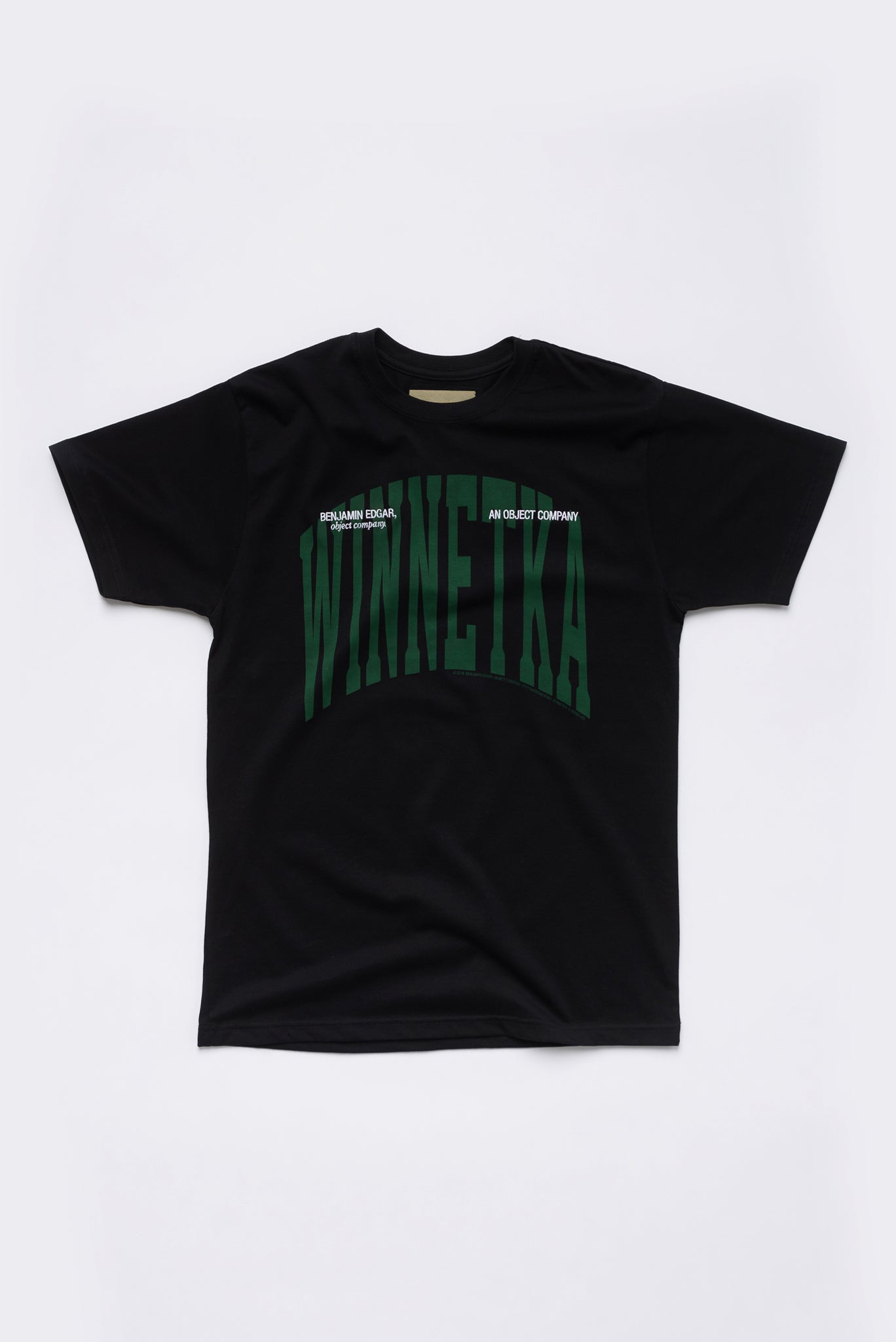"""All The Way Through, Winnetka"" Embroidered Simple T-Shirt"