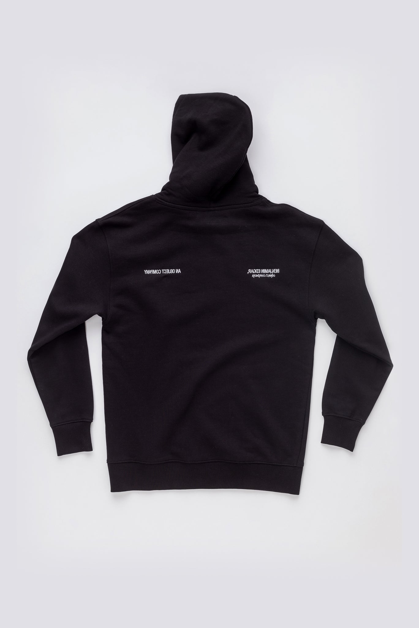 """All The Way Through"" Embroidered Hooded Sweatshirt #1"