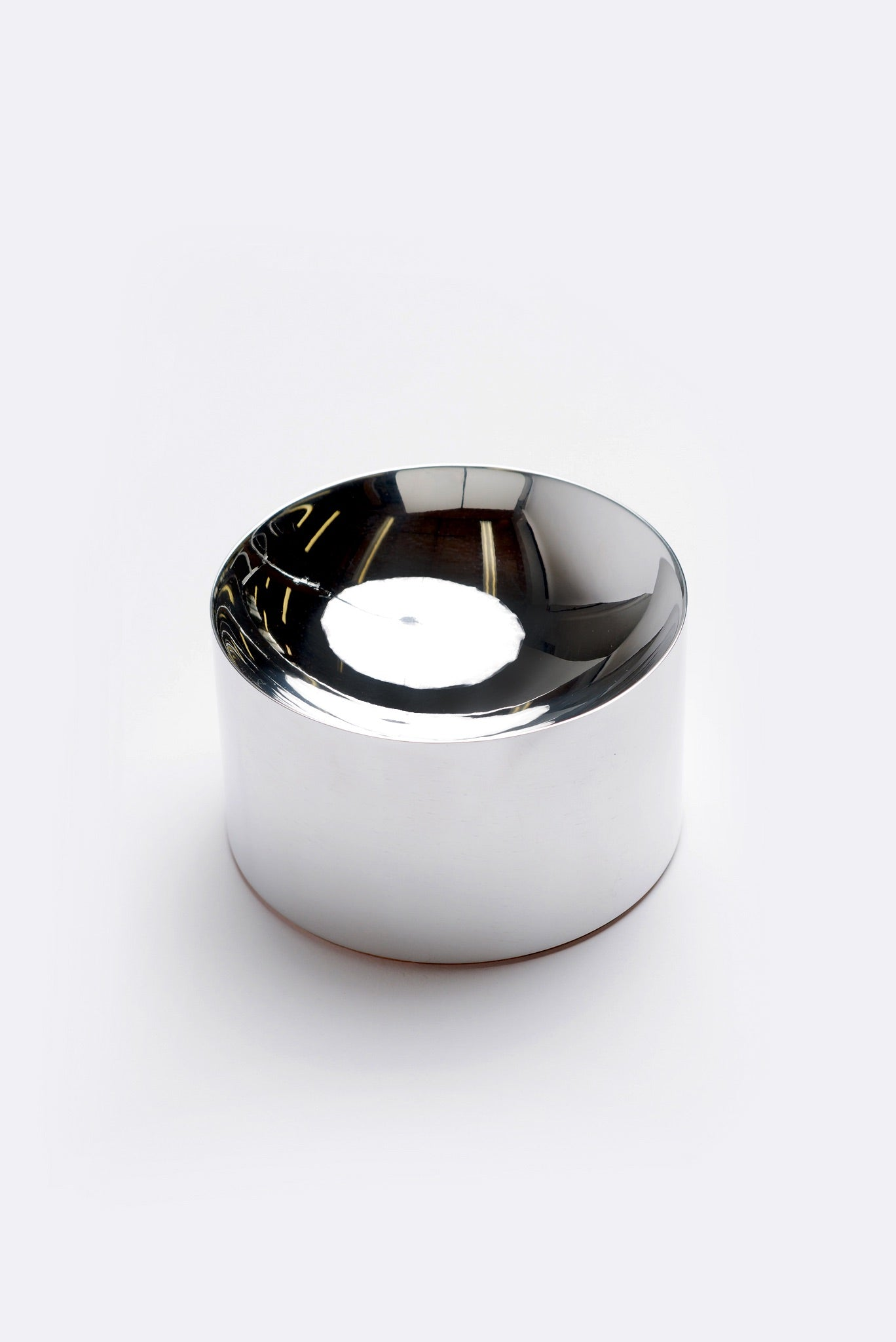Sand Incense Bowl in Solid Mirror Polished Aluminum