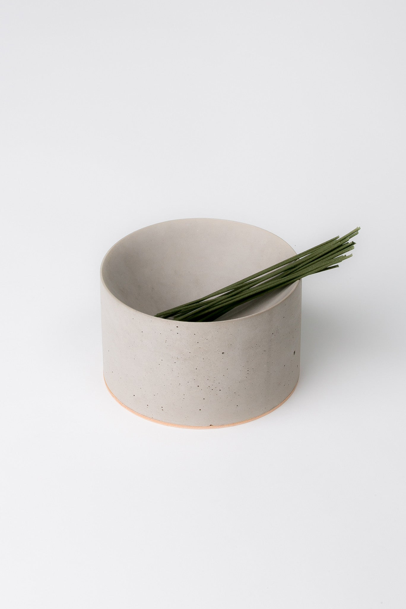 Sand Incense Bowl in Concrete