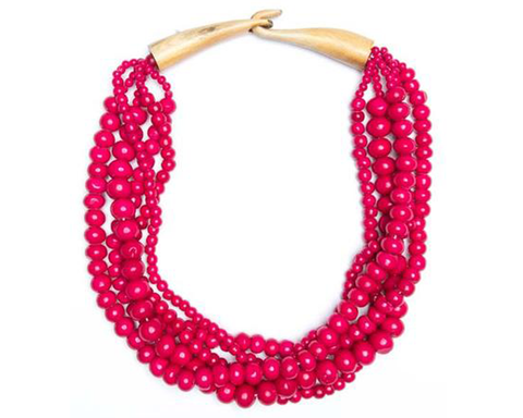 """Kamini"" Beaded Necklace"
