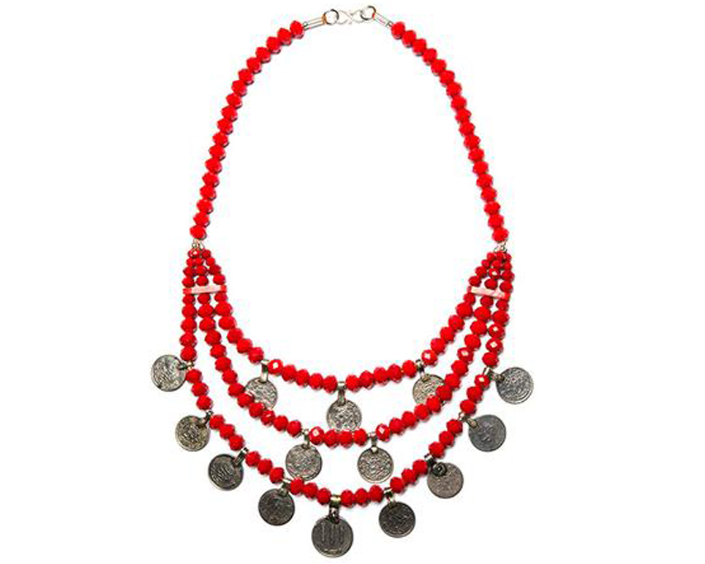 """Maliha"" Coin Necklace"