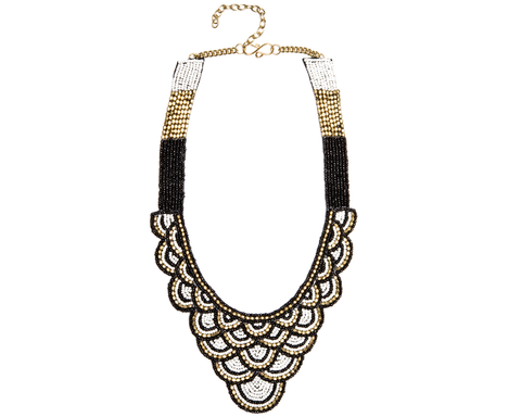 """Akasa"" Woven Collar Necklace"