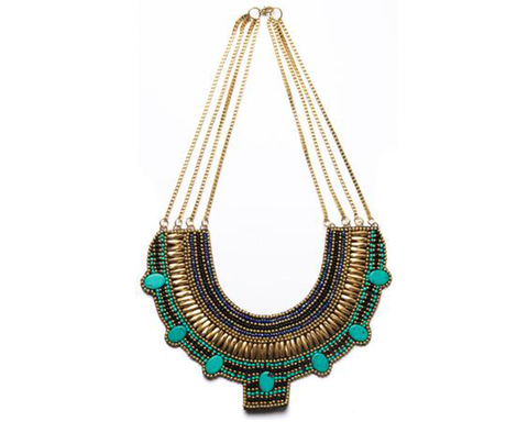 """Karishma"" Pharaoh Collar Necklace"