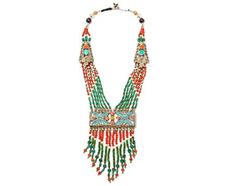 """Amiri"" Multi Strand 20"" Beaded Necklace"