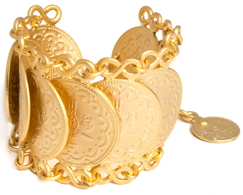 """Eernel"" Turkish Coin Bracelet"