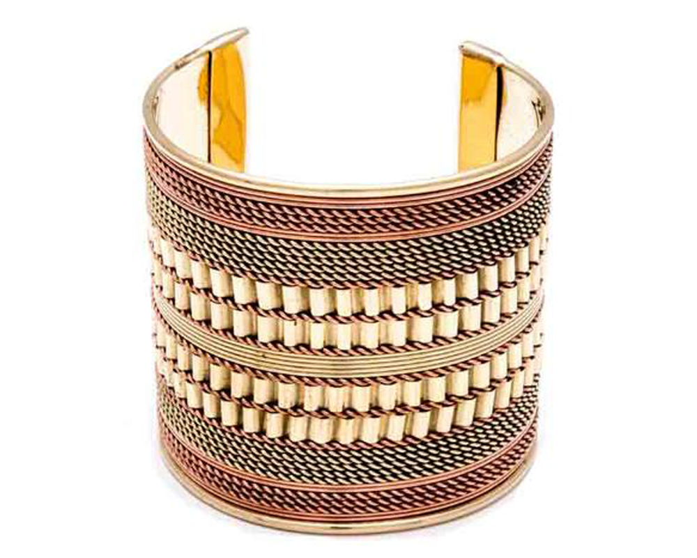 """Pranjal"" Chain-Link Cuff"