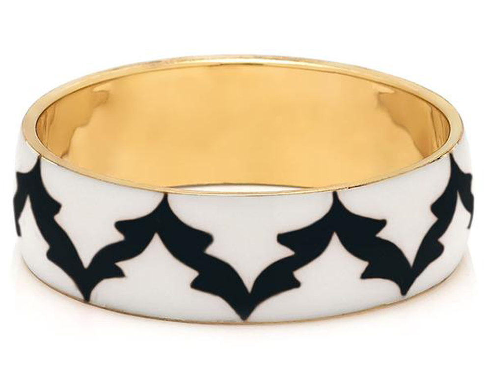 """Subarna"" Scalloped Pattern Bangle"