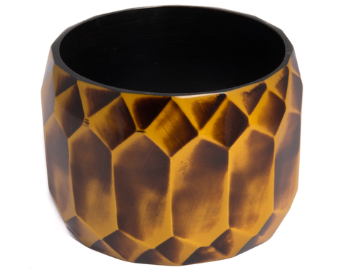 """Avnita"" Autumn Faceted Bangle"