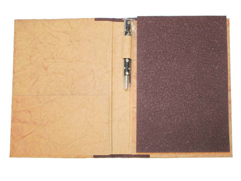 Large Textured Paper Journal