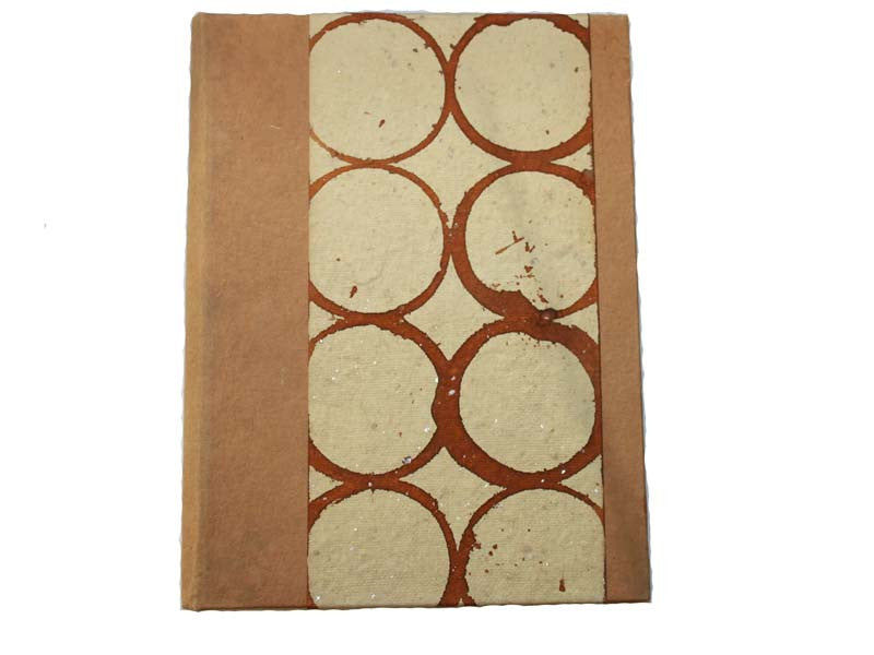 Large Circle Design Paper Journal
