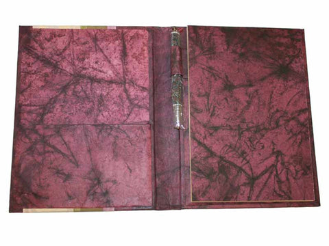 Large Batik Paper Journal