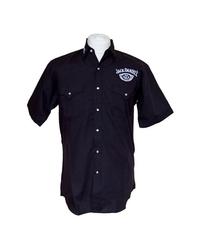 Official Jack Daniels Black Short Sleeve Shirt