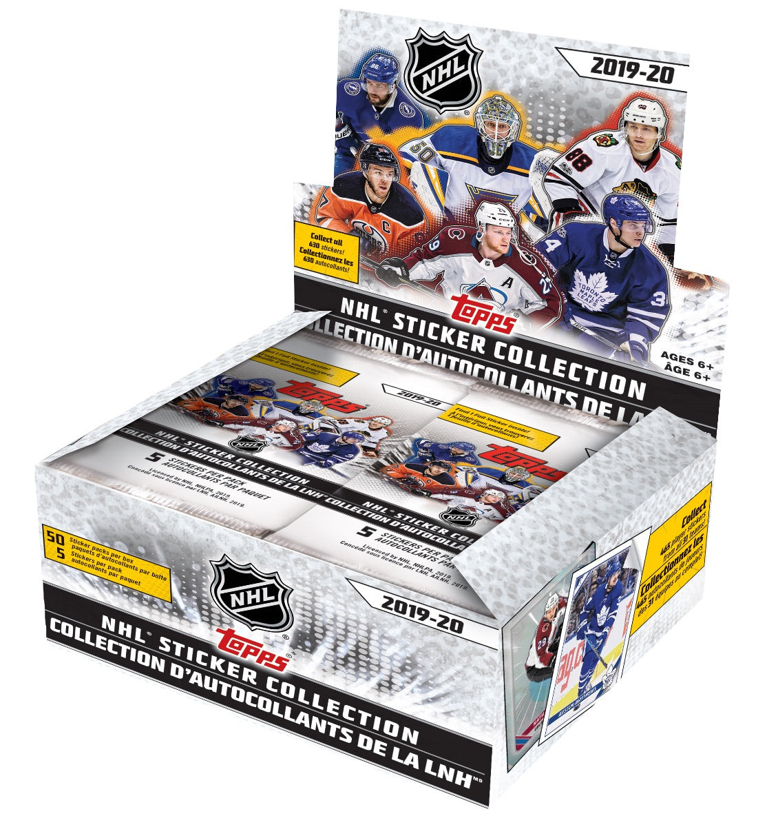Topps NHL Sticker Collection Stickers