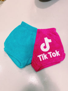 Made with Love and Kisses Tik Tok Fuzzy Short