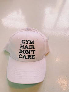 Gym Hair Don't Care Baseball Hat
