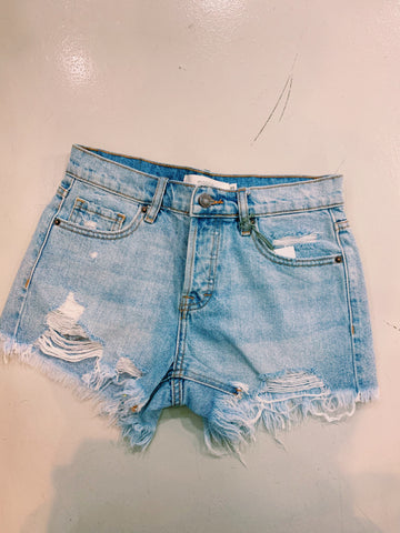 Hidden Light Denim Short