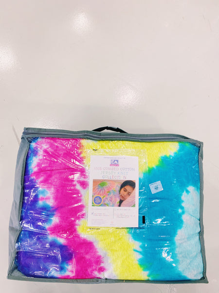 Cotton Jersey Knit Collection - Rainbow Tie Dye