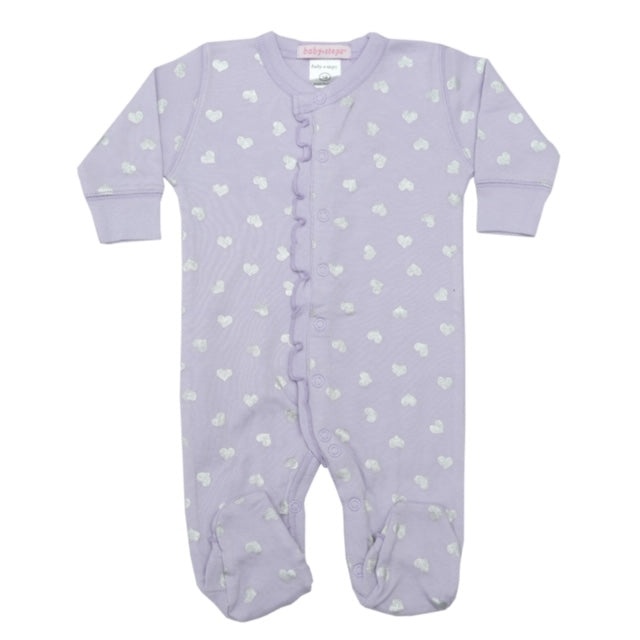 Purple Hearts Onesie