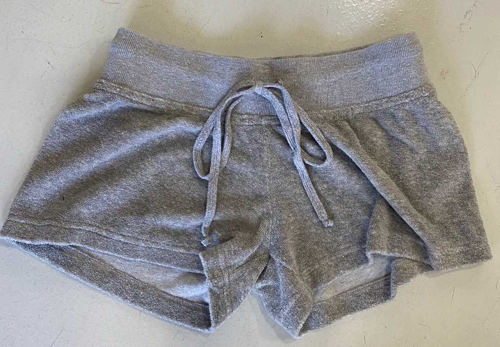Hard Tail Terry Shorts - Grey