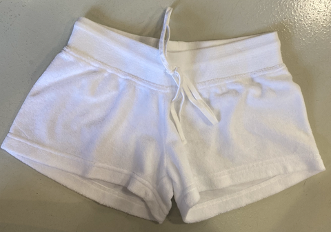 Hard Tail Terry Shorts - White
