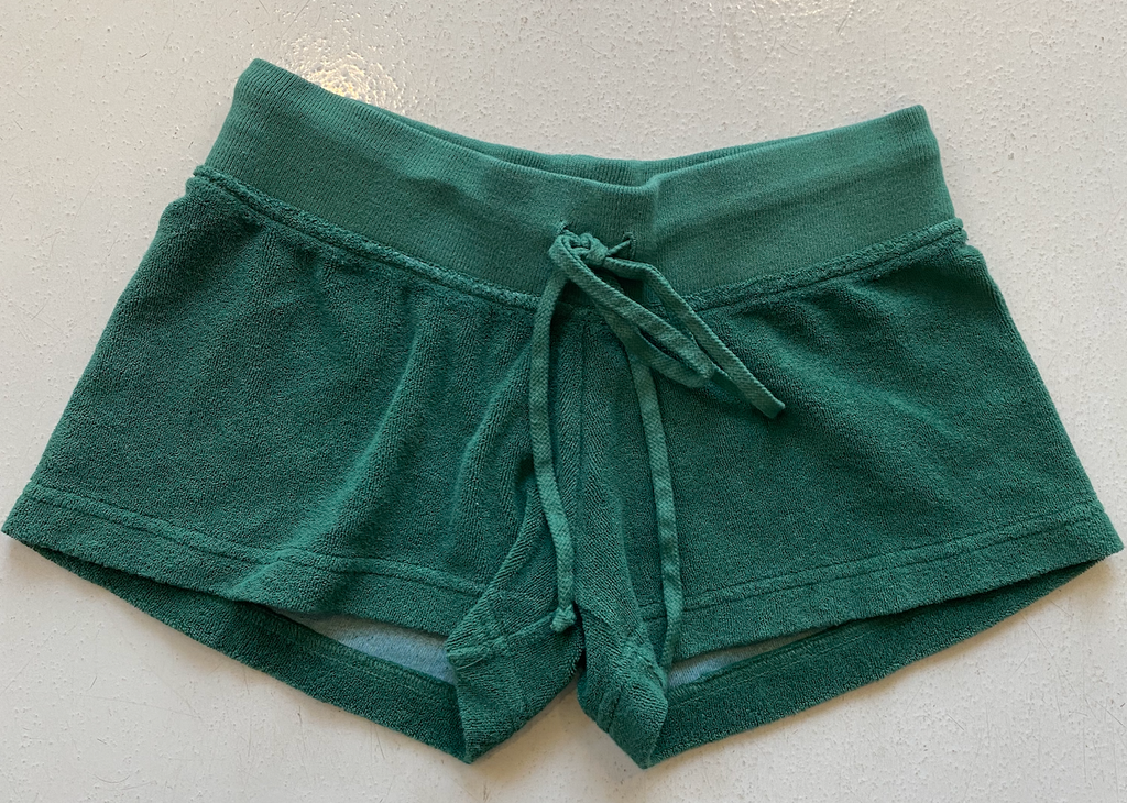 Hard Tail Terry Shorts - Green
