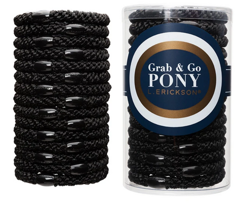Grab & Go Pony Tube - Black