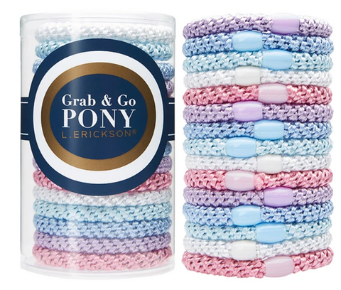 Grab & Go Pony Tube - Pastel