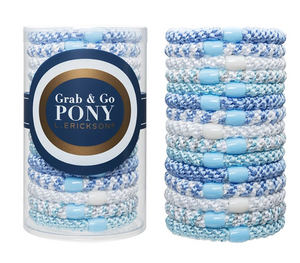 Grab & Go Pony Tube - Blue Wave