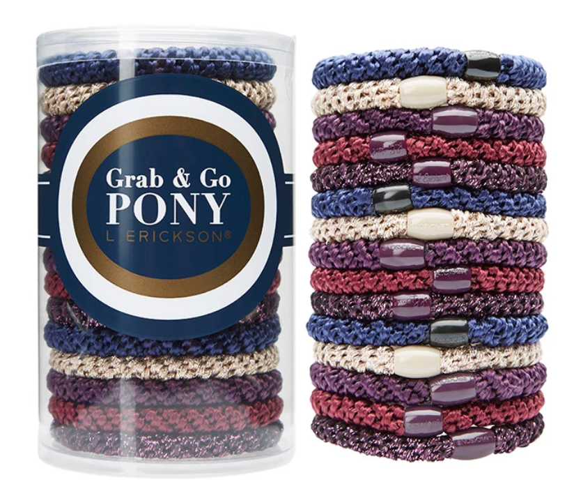 Grab & Go Pony Tube - Bejeweled