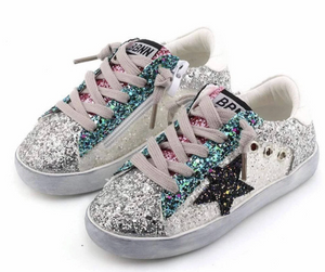 Lola & The Boys Glitter Sneaker